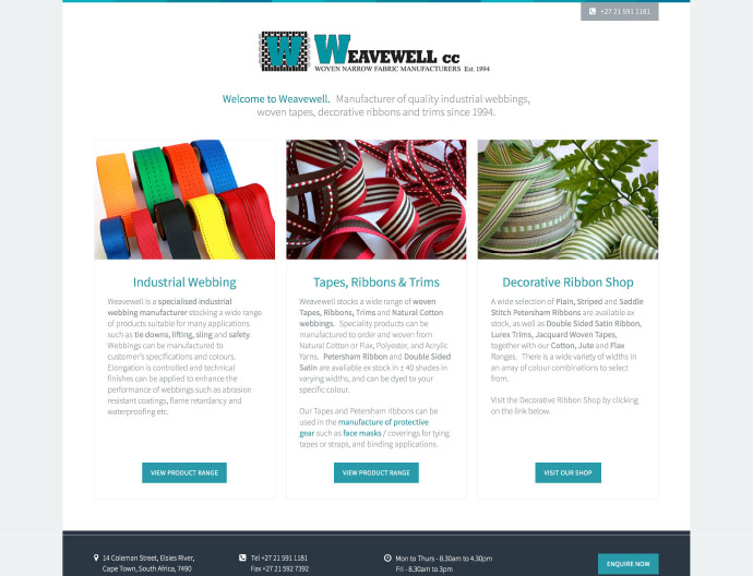 Weavewell Website Project